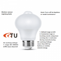 9W PIR LED BULB with ultra-lower