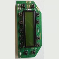 ST F1 MCU controlling STN 1602 LCD